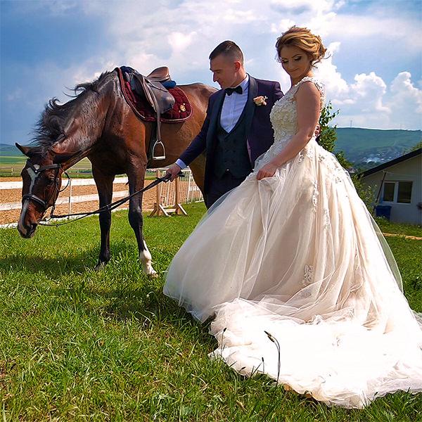 portofoliu video clip trailer teaser nunta Larisa